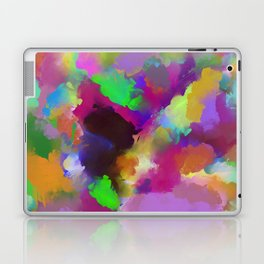 Expression Of Colour - Abstract, modern painting Laptop & iPad Skin
