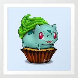 Bulba Cupcake Art Print