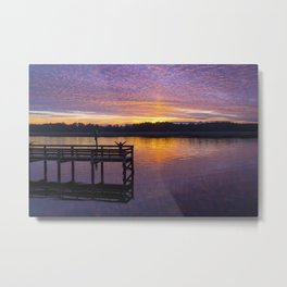 Glorious Sunset Metal Print