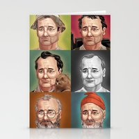 murray Stationery Cards featuring Bill Murray by Dave Collinson