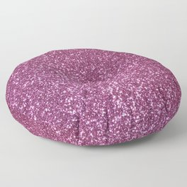 Pink Lavender Glitter with Silvery Highlights Floor Pillow