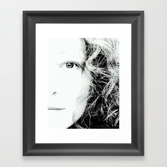 See Me Framed Art Print
