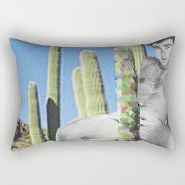 Censored Prick Rectangular Pillow