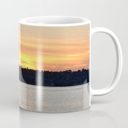 SHIPS AT SUNSET Coffee Mug