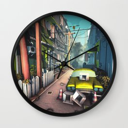 Avenue Wall Clock