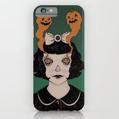 jack o lantern eyes iPhone 6s Slim Case