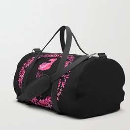 We're all mad here. Cheshire Cat. Duffle Bag