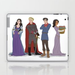 In a Land of Myth and a Time of Magic Laptop & iPad Skin