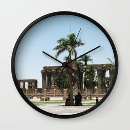 Temple of Luxor, no. 20 Wall Clock