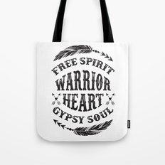 Warrior Heart Tote Bag