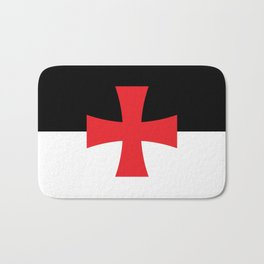 Knights Templar Flag Bath Mat