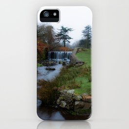 Stream in the park iPhone Case
