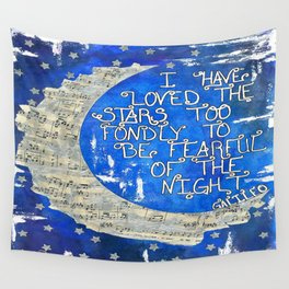 Amant d'étoile - Star Lover  Wall Tapestry