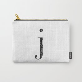 "j-ception - The Didot ""j"" Project Carry-All Pouch"