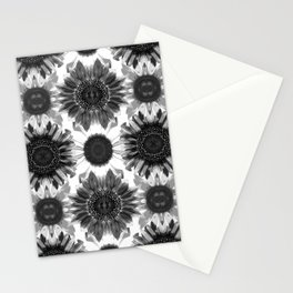 Sunflowers After Dark Stationery Cards
