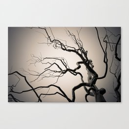 Chrome Tree Canvas Print