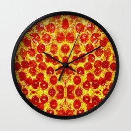 Pizza Art Wall Clock