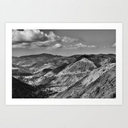 Boney Trail 4 Art Print
