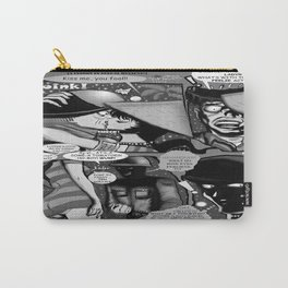 Bird of Steel Comix – #8 of 8  - (Society 6 POP-ART COLLECTION SERIES) Carry-All Pouch