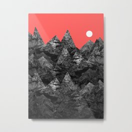 The dark rockies Metal Print