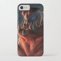 gorilla iPhone & iPod Cases featuring Gorilla by Kirk Pesigan