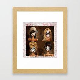 Beso Framed Art Print
