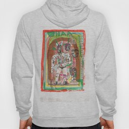 Haa wrestling man with horns and swords Hoody