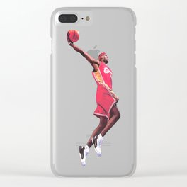 Young King James Clear iPhone Case