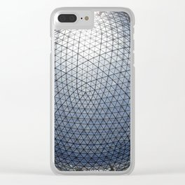 Look Up Dali Clear iPhone Case