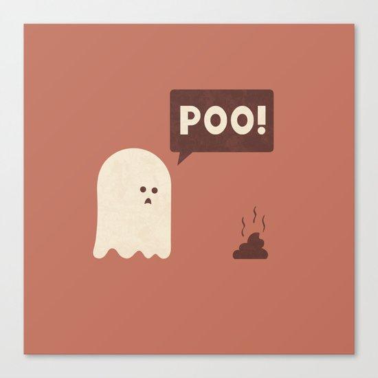 Poo Canvas Print