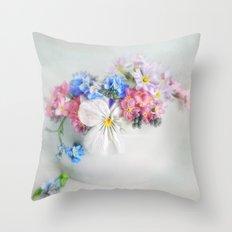 simply spring N°4 Throw Pillow