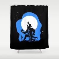 werewolf Shower Curtains featuring Werewolf by JoJo Seames
