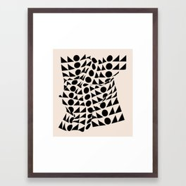 Battle Boy Framed Art Print