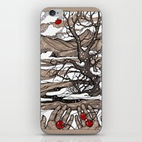 cherry iPhone & iPod Skins featuring Cherry by Iris V.