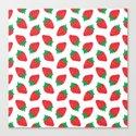 Cream Strawberries Pattern by xooxoo