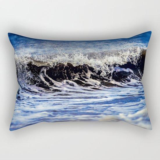 Crashing Wave Rectangular Pillow