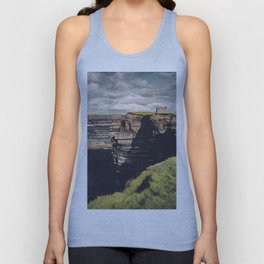 Irish Sea Cliffs Unisex Tank Top