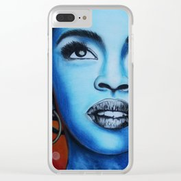 Lauyrn Hill Clear iPhone Case
