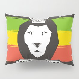 Rasta Lion Pillow Sham