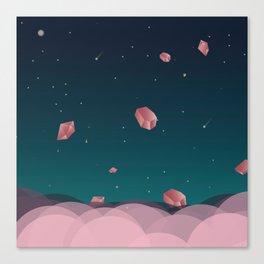 Luna Diamonds Canvas Print