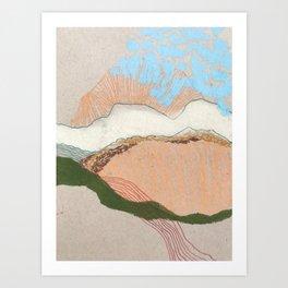 summer sketch no.4 Art Print