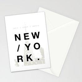 New York. Stationery Cards
