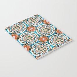 Seamless Floral Pattern Ornamental Tile Design : 1 Notebook