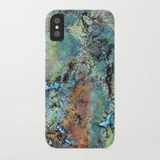 Turquoise iPhone X Slim Case