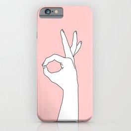OK iPhone Case