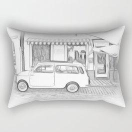 Fiat Cinquecento - 500 Rectangular Pillow