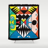 nightmare Shower Curtains featuring Nightmare by Ivan Solbes
