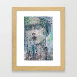 The Prophetess Framed Art Print