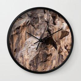 Kick Rocks (Fossil Falls, CA) Wall Clock