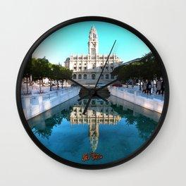 Porto Wall Clock